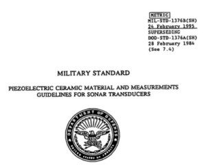 Thumbnail of the cover of MIL-STD-1376B.