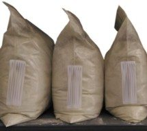 bags of BM402 (PZT-4) piezoelectric powder
